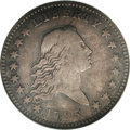 Early Half Dollars: , 1795 50C 2 Leaves VF25 NGC. O-110, R.3. Recut 9 in the date and 9x8berry arrangement on the reverse, with 2 inside berries...