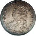 Bust Half Dollars: , 1824 50C Overdate MS63 PCGS. O-103, R.1. According to specialistGlenn Peterson, the 4 in the date is cut over a 2 and a 0,...