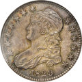 Bust Half Dollars: , 1829 50C MS63 NGC. O-117, R.2. The same reverse die was also usedfor O-118, and it appears that the latter variety was act...