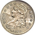 Bust Half Dollars: , 1834 50C Small Date, Small Letters MS65 NGC. O-109, R.1. This isone of several common varieties for the date, an excellent...