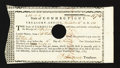 Colonial Notes:Connecticut, Connecticut November 14, 1788 £50 Extremely Fine-About New.. ...