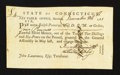 Colonial Notes:Connecticut, Connecticut December 26, 1781 £4 Extremely Fine.. ...