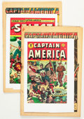 Golden Age (1938-1955):Miscellaneous, Timely Golden Age Coverless Superhero Group (Timely, 1941-43).... (Total: 2 Comic Books)