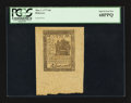 Colonial Notes:Delaware, Delaware May 1, 1777 6d PCGS Superb Gem New 68PPQ.. ...