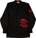 Football Collectibles:Uniforms, 1940's Santa Clara University Broncos Original Letterman's Jacket....