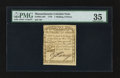 Colonial Notes:Massachusetts, Massachusetts 1779 1s 6d PMG Choice Very Fine 35.. ...