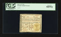 Colonial Notes:Georgia, Georgia June 8, 1777 $6 PCGS About New 50PPQ.. ...