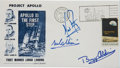 Autographs:Celebrities, Apollo 11 Crew-Signed Insurance Cover with Dow-Unicover Cachet....
