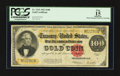 Large Size:Gold Certificates, Fr. 1215 $100 1922 Gold Certificate PCGS Apparent Fine 15.. ...