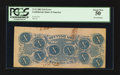 Confederate Notes:1862 Issues, T52 $10 1862 PF-9IB Cr. 373IB.. ...