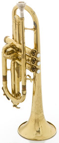Musical Instruments:Horns & Wind Instruments, Circa 1950's Conn Pan American Brass Cornet, Serial #236750....