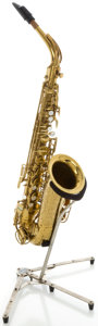 Musical Instruments:Horns & Wind Instruments, Circa 1954 The Martin Brass Alto Saxophone, Serial #183225....