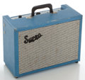 Musical Instruments:Amplifiers, PA, & Effects, 1960's Supro Super Blue Guitar Amplifier, Serial #I-23134....