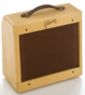 Musical Instruments:Amplifiers, PA, & Effects, Circa 1957 Gibson Skylark White Guitar Amplifier, Serial #16771....