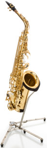 Musical Instruments:Horns & Wind Instruments, Yamaha YAS-475 Brass Alto Saxophone, Serial #320315....