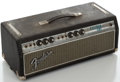 Musical Instruments:Amplifiers, PA, & Effects, Circa 1969 Fender Bassman Silverface Guitar Amplifier, Serial#A50881....
