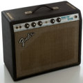 Musical Instruments:Amplifiers, PA, & Effects, 1970's Fender Princeton Reverb Silverface Guitar Amplifier, Serial #A28633....