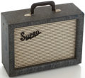 Musical Instruments:Amplifiers, PA, & Effects, 1960's Supro Valco Reverb Unit, Serial #I-86967....