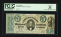 Confederate Notes:1861 Issues, T33 $5 1861 PF-8 Cr. 255Ca.. ...