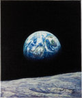 "Transportation:Space Exploration, Alan Bean Signed Limited Edition Giclée Canvas ""Mother Earth""...."