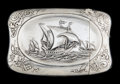 Silver Smalls:Match Safes, A WALLACE SILVER COLUMBIAN EXPOSITION MATCH SAFE . R. Wallace &Sons Mfg. Co., Wallingford, Connecticut, circa 1893. Marks...