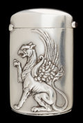 Silver Smalls:Match Safes, A CARTER SILVER & SILVER GILT MATCH SAFE . Carter, Howe &Co., New York, New York, circa 1900. Marks: (arrow),STERLING...