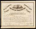 Confederate Notes:Group Lots, Ball 288 Cr. 141A $500 1864 Four Per Cent Registered Bond.. ...(Total: 2 items)