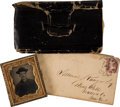 Autographs:Military Figures, Collection of Civil War Items including:...