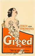 "Movie Posters:Drama, Greed (MGM, 1924). Window Card (14"" X 22"").. ..."