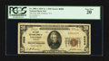 National Bank Notes:Virginia, Lebanon, VA - $20 1929 Ty. 1 The First NB Ch. # 6886. ...
