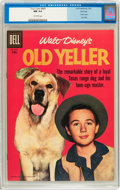 Silver Age (1956-1969):Adventure, Four Color #869 Old Yeller - File Copy (Dell, 1958) CGC NM 9.4 Off-white pages....