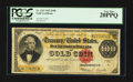 Large Size:Gold Certificates, Fr. 1215 $100 1922 Gold Certificate PCGS Very Fine 20PPQ.. ...