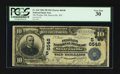 National Bank Notes:West Virginia, Sistersville, WV - $10 1902 Plain Back Fr. 624 The Peoples NB Ch. # (S)6548. ...