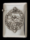 Silver Smalls:Match Safes, A BATTIN SILVER AND SILVER GILT MATCH SAFE . Battin & Co.,Newark, New Jersey, circa 1900. Marks: STERLING B, 183.2-3/...