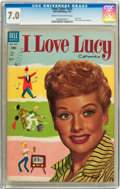 Golden Age (1938-1955):Miscellaneous, Four Color #535 I Love Lucy #1 (Dell, 1954) CGC FN/VF 7.0 Cream to off-white pages....