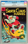 Silver Age (1956-1969):Humor, Four Color #1063 Santa Claus Funnies - File Copy (Dell, 1959) CGC VF/NM 9.0 Off-white pages....