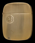 Silver Smalls:Match Safes, A BATTIN 14K GOLD MATCH SAFE . Battin & Co., Newark, NewJersey, circa 1920. Marks: (B with trident), 14K, 269. 2-5/8in...