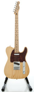 Musical Instruments:Electric Guitars, 2006 Fender Telecaster Natural Solid Body Electric Guitar, Serial#MZ6220817....