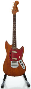 Musical Instruments:Electric Guitars, 1966 Fender Mustang Refinished Solid Body Electric Guitar, Serial#155754....