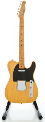 1994 Fender Telecaster 1952 USA Reissue Butterscotch Solid Body Electric Guitar, Serial #19975