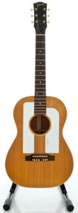 Musical Instruments:Acoustic Guitars, 1964 Gibson F25 Folksinger Natural Acoustic Guitar, Serial #167404....