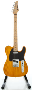 Musical Instruments:Electric Guitars, Kramer Tele Amber Solid Body Electric Guitar, Serial#S020820250....