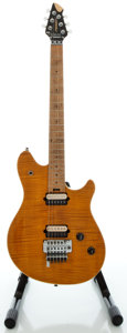 Musical Instruments:Electric Guitars, Peavey EVH Wolfgang Amber Solid Body Electric Guitar, Serial#910-11692....