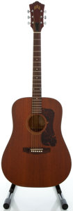 Musical Instruments:Acoustic Guitars, Circa 1972 Guild D-25 Mahogany Acoustic Guitar, Serial #70580....
