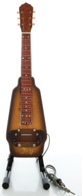 Musical Instruments:Lap Steel Guitars, Circa 1940's Kay Project-Model Mahogany Lap Steel Guitar...