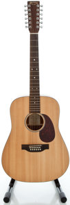 Musical Instruments:Acoustic Guitars, Recent Martin DM-12 Natural 12 String Acoustic Guitar, Serial #1047147....
