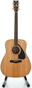 Musical Instruments:Acoustic Guitars, Yamaha FG-460S Natural Acoustic Guitar, Serial #80601167....
