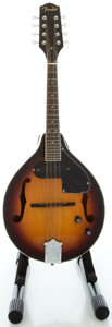 Musical Instruments:Banjos, Mandolins, & Ukes, Fender Sunburst Acoustic Electric Mandolin, Serial #CD08100220....