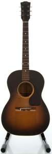 Musical Instruments:Acoustic Guitars, Circa 1949 Gibson LG1 Sunburst Acoustic Guitar, Serial #4021 3....