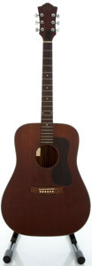 Musical Instruments:Acoustic Guitars, Circa 1978 Guild D-25 Mahogany Acoustic Guitar, Serial #175886....